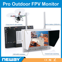 outdoor highly brightness 7 inch fpv monitor 5.8GHz transmitters 32ch non blue screen