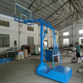 Standard size basketball stand for universities schools and clubs