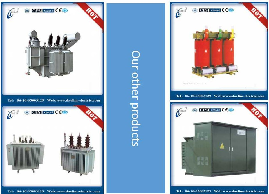 Oil type ISO&IEC three phase non-load 66Kv 50 mva transformer