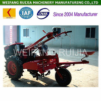 High quality 18hp agricultural equipment walking tractor for sale ! 20hp diesel power tiller and mini traktor with tractor parts