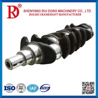 2016 Best Selling High Performance Cast Alloy Steel Diesel Engine Crankcrank Shaft For Toyota 2KD