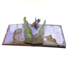 Paper board 3D Children book printing / hardcover pop up book