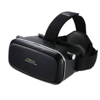 Virtual Reality Headset 3D Video Movie Game Glasses + Remote Bluetooth Controller, Focal & Pupil Distance adjustment