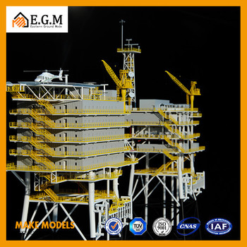 Miniature Industrial Technology And Equipment Display Model