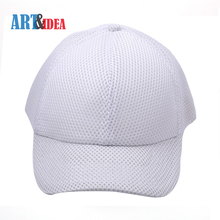 Top selling custom color sandwich polyester breathable mesh baseball cap