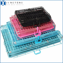 Wholesale In Stock Portable Welded Wire Mesh Breeding Dog Cage For Dogs