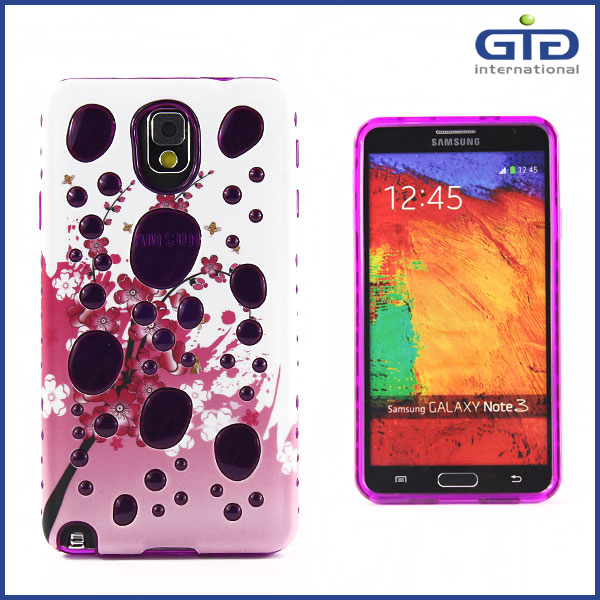 Case For Samsung For Galaxy For Note 3 Hard Cover With Fashion Design
