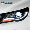 Professional China supplier car headlight manufacturer of vw tiguaqn car auto accessories headlight light for tiguan