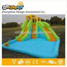 Monster Tropical Island Wave Inflatable Water Slide