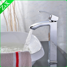 Induction faucet