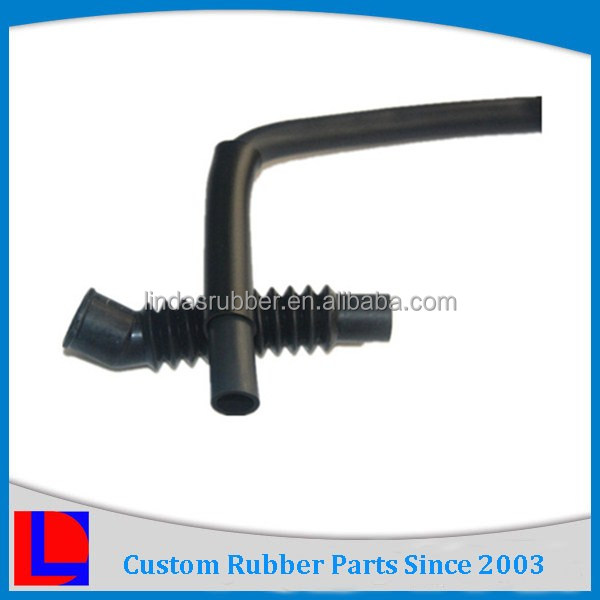 TS16949 approved 90 degree rubber tube