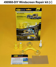DIY car windshield glass repair kit