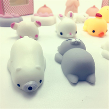 Mini Stretchy silicone squeeze squishy toy with different Kawaii animals