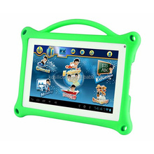 silicone case for vatop kids tablet pc,rugged case for vatop tablet,shockproof case with handle for kids