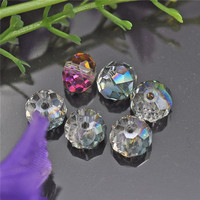 loose crystal rondelle beads in different shapes