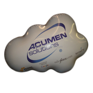 Cloud shape advertising flying balloon, inflatable cloud balloon with custom logo K7107