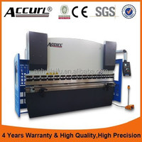 China Manufacturer MB7-160T3200 2017 Top Quality 160ton cnc hydraulic plate press brake