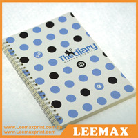 LM-2006 Custom notebook manufacturer notebook paper,cover for notebook print,classmate hardcover spiral notebook