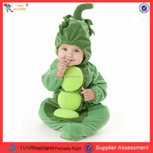 PGCC1673 new product 2016 adult plush beans fruit costume