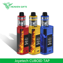 2017 New Products 228W 4ml Joyetech CUBOID TAP Kit the best e cigarette on the market