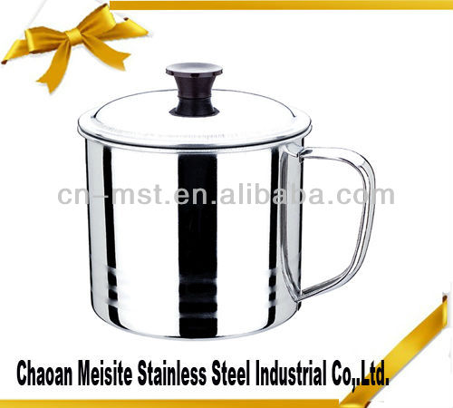 Stainless Steel Oil cup mug