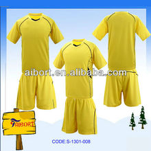 yellow basketball jerseys and shorts (S-1301-008)