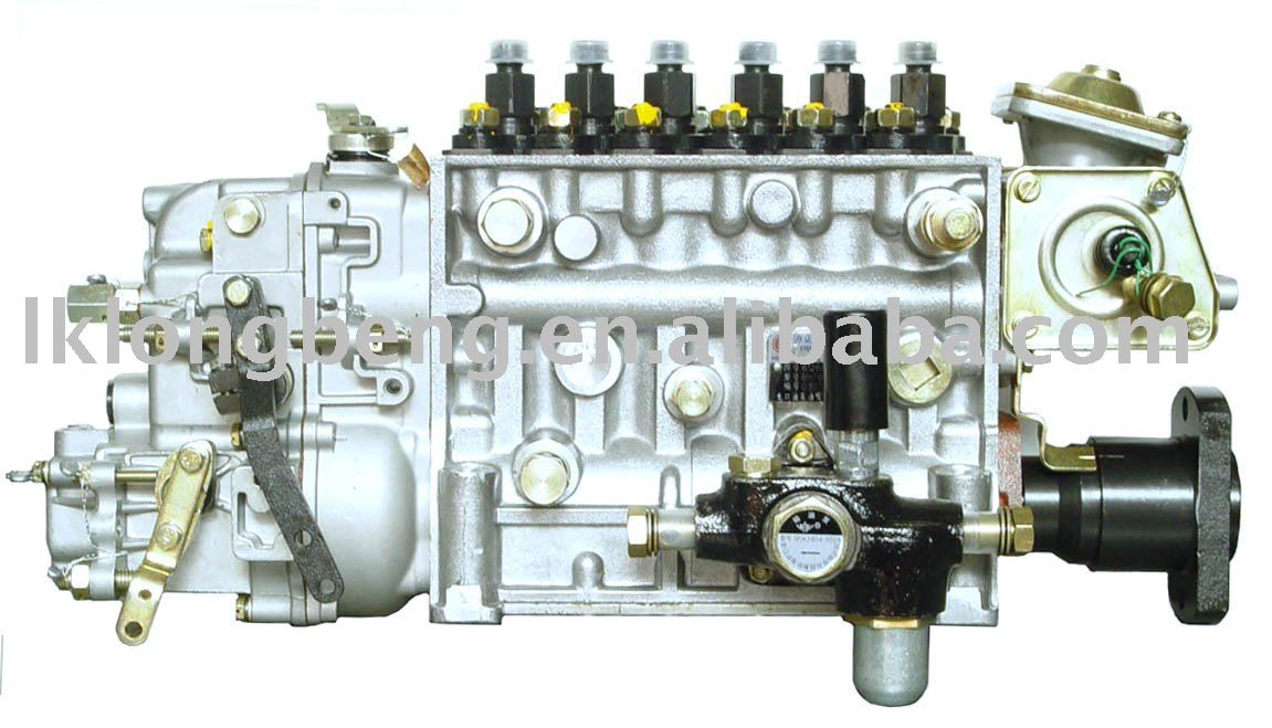 6 cylinders in-line P series fuel injection pump