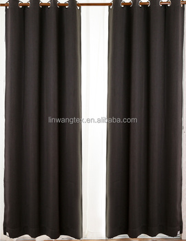 100% polyester wool like new curtain fabric
