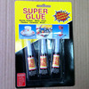 fast setting super glue in aluminum tube 3tube one card