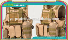 W118 tactical full protection bullet proof vest