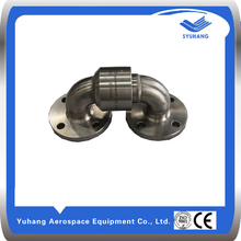 Stainless Steel double elbow flange Swivel Joint/ Rotary Union