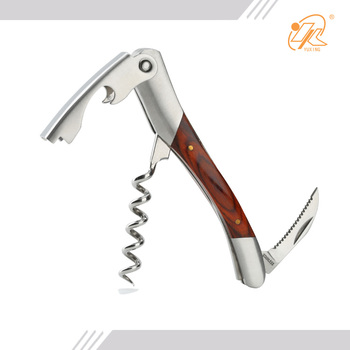 Factory supplier factory price waiters wine corkscrew opener with knife