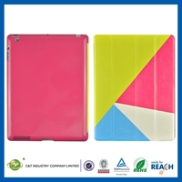 The Shiny for ipad 2 holder leather case