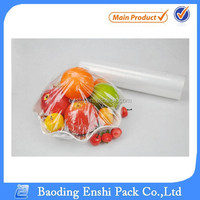 Soft Hardness and Cling Film Usage LLDPE clear transparent film