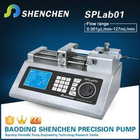 Semi automatic syringe pump ,knob speed control bearing pump ,various volume syringe pump for transfer