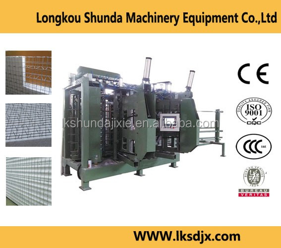Hot sale 3D EPS sandwich wall panel machine
