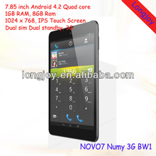 2014 New 7.85inch 3G Ainol Numy BW1 Tablet PC