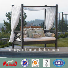 2018 Modern outdoor furniture rattan daybed MY13RF38