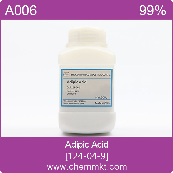 High quality chemicals Adipic acid CAS124-04-9 for Solder