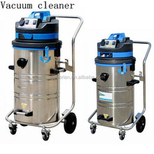 low noise 60L/80L industrial heavy duty vacuum cleaner with wet and dry
