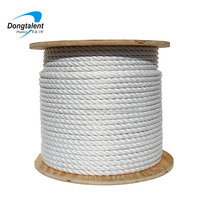 8 mm Sisal natural hemp twisted rope in coil for decoration