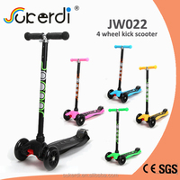 CE SGS certificated aluminum 4 wheel scooter scooter dirt
