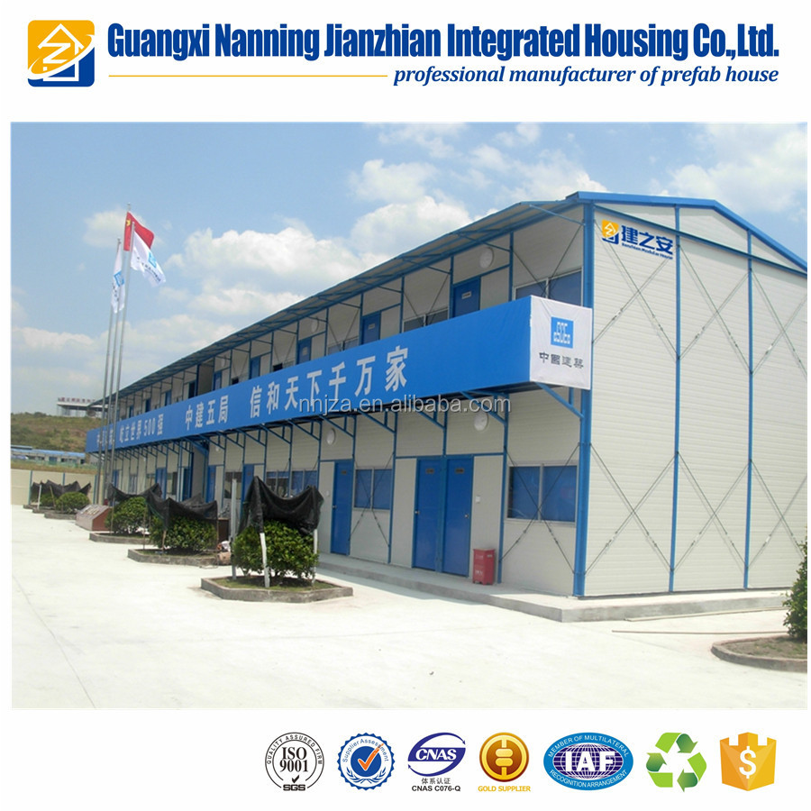 Fast assemble and safe prefabricated house used price