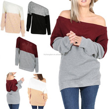 New Design Ladies Sweater Pullover Knit Sweater Latest Designs For Women