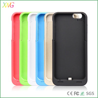 External Backup power bank case for iphone 6 battery case/battery charger 3500mah