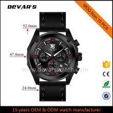 2017 hot new products water resistant quartz watch mens watch