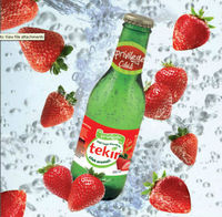 Strawberry Flavoured Sparkling Mineral Water