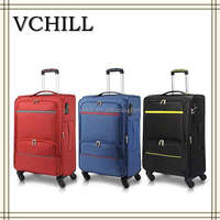 20/24/28 inch 3pcs four wheels Soft Luggage sets/High quality Spinner luggage/New Luggage Suitcase