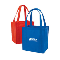 Handled high-quality tailored non-woven foldable tote bags