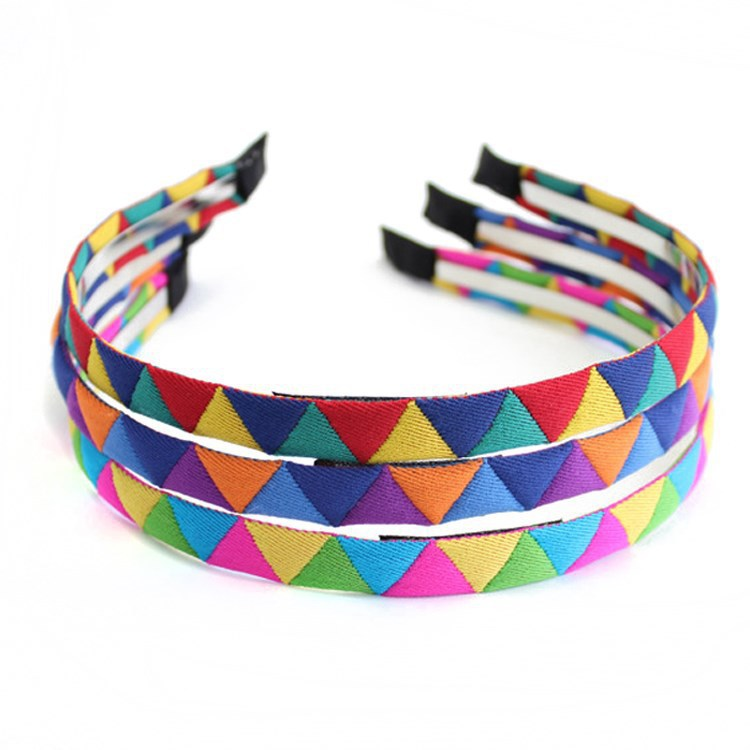 Fashion handmade rainbow for women primark hair accessories